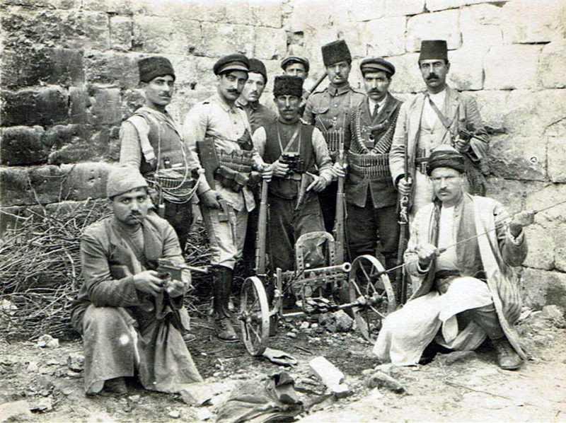 Героическое сопротивление армян Айнтапа в 1920 году_3