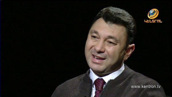 Большое интервью Эдуарда Шармазанова о ситуации в Армении каналу «Кентрон» (Видео)